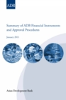 Summary of ADB Financial Instruments and Approval Procedures - eBook