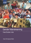 Gender Mainstreaming Case Studies : India - eBook