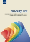 Knowledge First : Progressing Knowledge Management in Southeast Asia Regional Department 2010-2011 - eBook