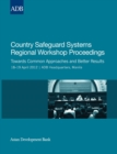 Country Safeguard Systems Regional Workshop Proceedings : Towards Common Approaches and Better Results - eBook