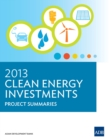 2013 Clean Energy Investments : Project Summaries - eBook