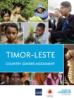 Timor-Leste Gender Country Gender Assessment - eBook