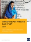 Gender Equality Results Case Study : India-Urban Water Supply and Environmental Improvement Project - eBook