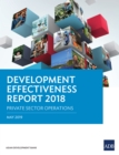 Development Effectiveness Report 2018 : Private Sector Operations - eBook