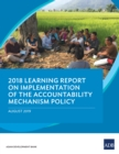 2018 Learning Report on Implementation of the Accountability Mechanism Policy - eBook