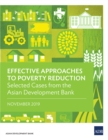 Effective Approaches to Poverty Reduction : Selected Cases from the Asian Development Bank - eBook