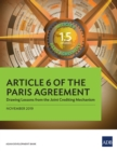 Article 6 of the Paris Agreement : Drawing Lessons from the Joint Crediting Mechanism - eBook