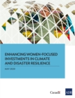 Enhancing Women-Focused Investments in Climate and Disaster Resilience - eBook