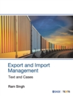 Export and Import Management : Text and Cases - Book