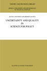Uncertainty and Quality in Science for Policy - eBook