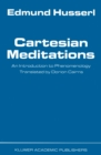 Cartesian Meditations : An Introduction to Phenomenology - eBook