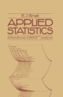 Applied Statistics : A Handbook of BMDP(TM) Analyses - eBook