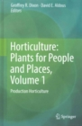 Horticulture: Plants for People and Places - Book