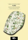 Flora : Label & Sticker Book - Book