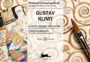 Gustav Klimt : Postcard Colouring Book - Book