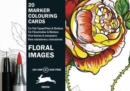 Floral Images : Marker Colouring Cards Book - Book