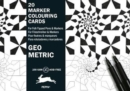 Geometric : Marker Colouring Cards Book - Book