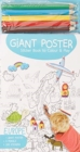 Giant Poster Colouring Book: Europe - Book