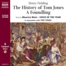 The History of Tom Jones, A Foundling - eAudiobook