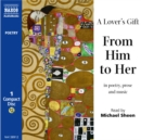 A Lover's Gift : From Him to Her - eAudiobook