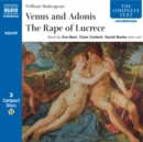 Venus & Adonis, The Rape of Lucrece - eAudiobook