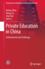 Private Education in China : Achievement and Challenge - eBook