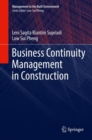 Business Continuity Management in Construction - eBook