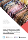 Annual Competitiveness Analysis And Impact Estimation Of Exchange Rates On Exports From Sub-national Economies Of Indonesia - eBook