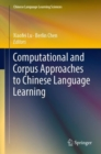 Computational and Corpus Approaches to Chinese Language Learning - eBook