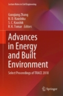 Advances in Energy and Built Environment : Select Proceedings of TRACE 2018 - Book