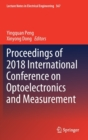 Proceedings of 2018 International Conference on Optoelectronics and Measurement - Book
