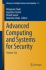 Advanced Computing and Systems for Security : Volume Ten - Book