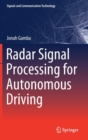 Radar Signal Processing for Autonomous Driving - Book