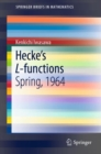 Hecke's L-functions : Spring, 1964 - Book