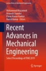 Recent Advances in Mechanical Engineering : Select Proceedings of ITME 2019 - eBook