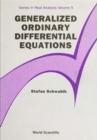 Generalized Ordinary Differential Equations - eBook