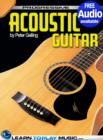 Acoustic Guitar Lessons for Beginners : Teach Yourself How to Play Guitar (Free Audio Available) - eBook
