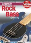 Rock Bass Guitar Lessons for Beginners : Teach Yourself How to Play Bass Guitar (Free Video Available) - eBook