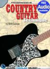 Country Guitar Lessons for Beginners : Teach Yourself How to Play Guitar (Free Audio Available) - eBook
