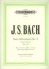 SUITE OVERTURE NO 2 B MINOR BWV 1067 - Book