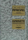 ORCHESTRAL TEST PIECES FOR CLARINET - Book