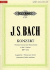 CONCERTO FOR 2 VIOLINS IN D MIN BWV1043 - Book