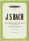 6 CELLO SUITES ARR FOR VIOLA - Book