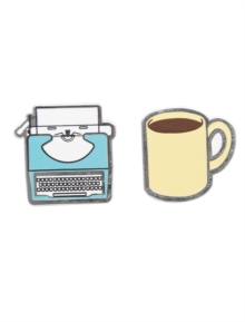 Typewriter and Coffee PINS-1010-E, Paperback Book