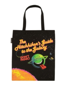 Hitchhikers Guide To The Galaxy Tote Bag, Paperback Book