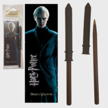 HP - Draco Malfoy Wand Pen And Bookmark, Toy Book