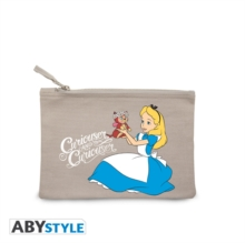 ALICE IN WONDERLAND COSMETIC CASE,  Book
