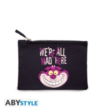 WERE ALL MAD HERE COSMETIC CASE,  Book