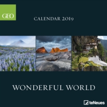 2019 GEO WONDERFUL WORLD 30 X 30 GRID CA,  Book