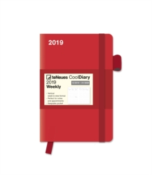 2019 RED COOL DIARY 9 X 14 CM,  Book